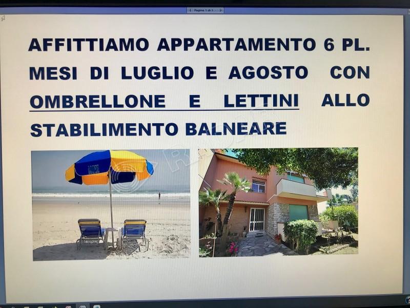 Castiglioncello  Appartamento LAST MINUTE Affitti 25/08-01/09/18