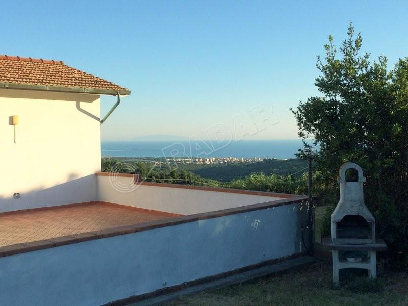 Rosignano Marittimo  Villetta/Villa indipendente in posizione collinare panoramica con vista mare