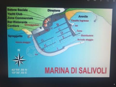 Marina di Salivoli di mt. 11