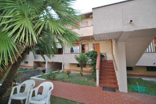 with 2 balconies and parking , 400 mt from the sea